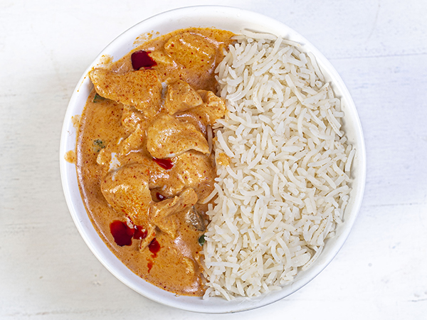 Chicken Thai Red Curry Rice Bowl