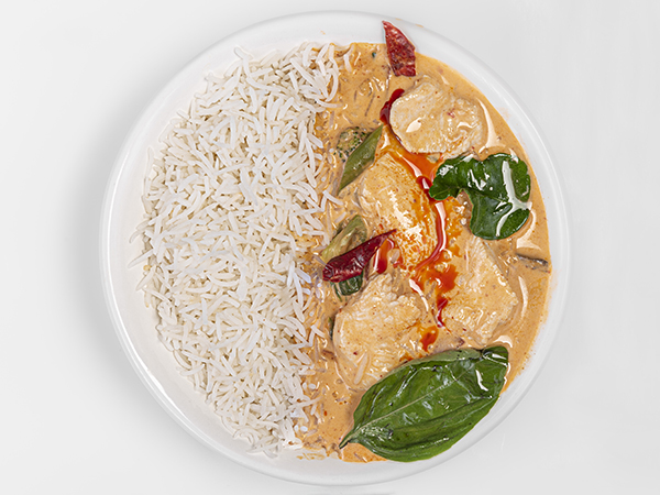 Chicken Thai Penang Curry Rice Bowl
