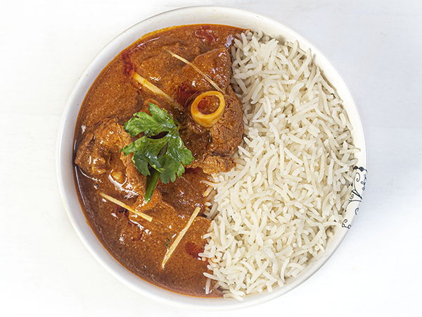 Mutton Curry Meal Bowl